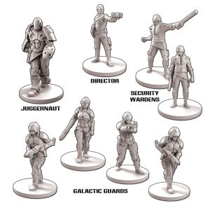 Core Space Galactic Corps Expansion