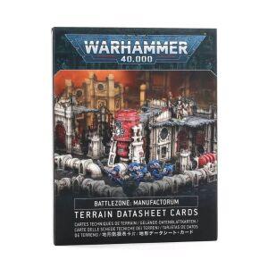 Battlezone Manufactorum Datasheet Cards engl.
