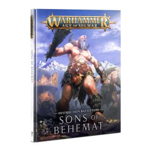 Battletome Sons of Behemat dt.