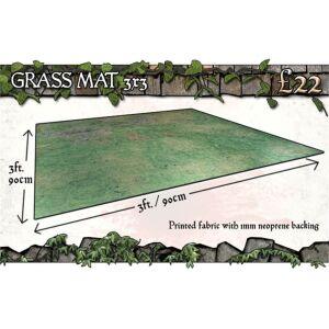 Grassy Fields Gaming Mat 3x3