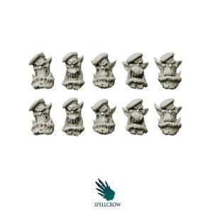 Bulky Orcs Green Berets Heads