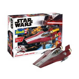 Star Wars - Resistance A-wing Fighter, red (1:44)