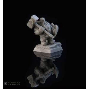 28mm Dwarf Hadrin Guard #1