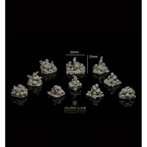 Pile of Skulls Basing Kit