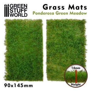Grasmattenausschnitte - Ponderosa Grüne Wiese