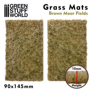 Grasmattenausschnitte - Braune Moore