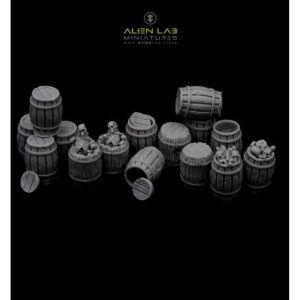 Wooden Barrels 2#