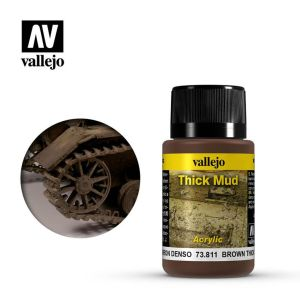 Vallejo Weathering Effects Thick Mud Brown