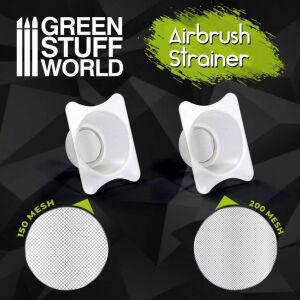 Filtertasse Farbreinigungsschale für Airbrush x2