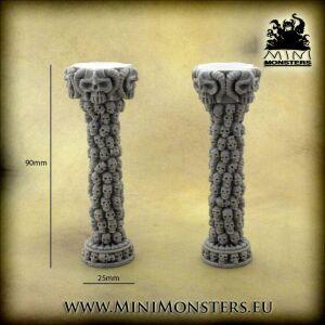 Skulls Columns