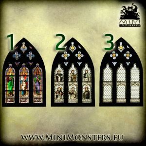 Cathedral Window SET2
