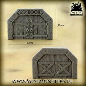Dwarven Doors SET2