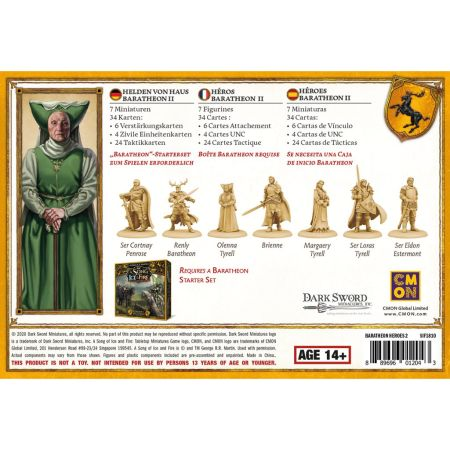 Baratheon Heroes Box 2 dt.