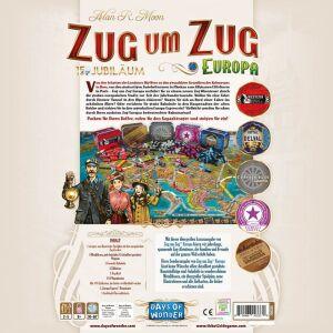 Zug um Zug Europa 15 Jahre Edition Jubiläum