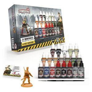 Zombiecide 2nd ed. Paint Set