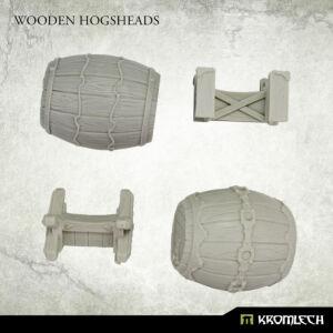 Wooden Hogsheads (2)