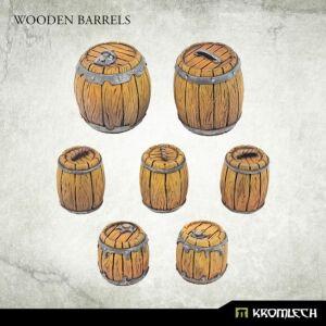 Wooden Barrels (8)