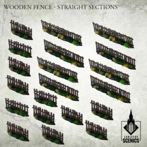 Poland 1939 WOODEN FENCE - STRAIGHT SECTIONS