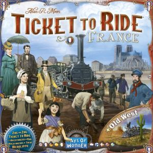 Ticket to Ride - France & Old West: Map Collection...
