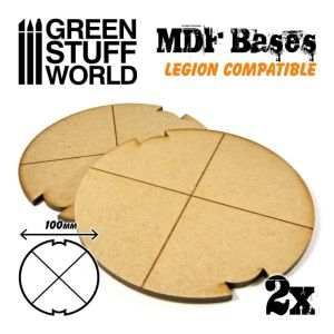 MDF Bases - Round 100 mm (Legion)