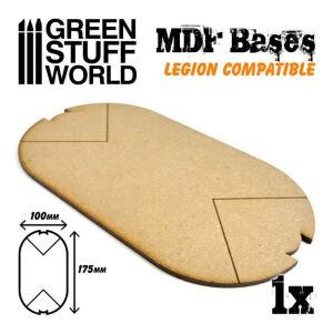 MDF Bases - Oval Pill 100x175 mm (Legion)