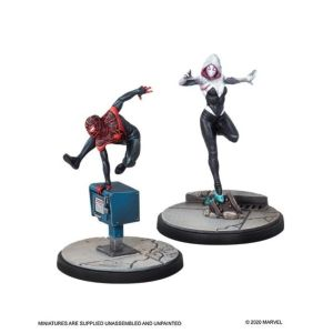 Marvel Crisis Protocol: Ghost-Spider and Spider-Man