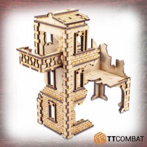 Ruined Modular Villetta Balcone Simona