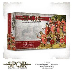 SPQR: Caesars Legions Legionaries with Gladius and Sling