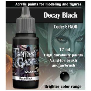 Fantasy&Games Decay Black 17ml