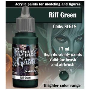 Fantasy&Games Riff Green 17ml