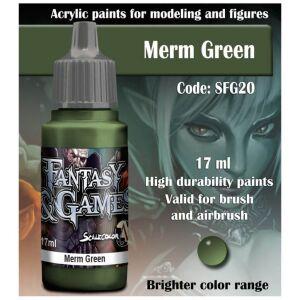 Fantasy&Games Merm Green 17ml