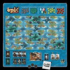 Tiny Epic Pirates Game Mat