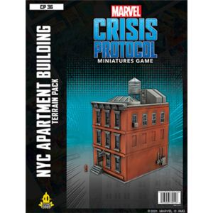 Crisis Protocol: NYC Apartment Building Terrain Pack