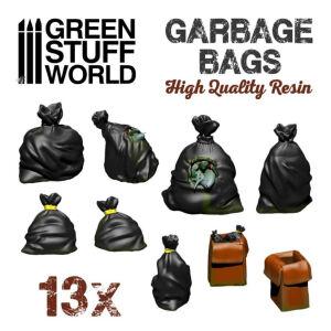 Müllsäcke aus Harz