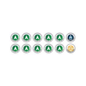 N4 Infinity Tokens Regular Orders Green (12)