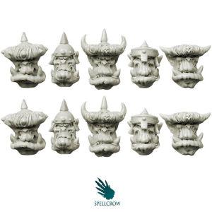 Orcs Armoured Heads v.2