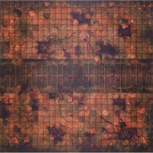 Gamemat Necropolis 4x4