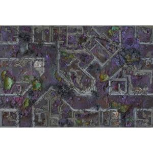 Gaming Mat Corrupted Warzone City 6x4