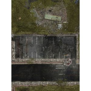 Spielmatte Vorstadt 30x22 Zoll