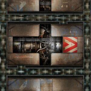Spielmatte Engine Room 36x36 Zoll