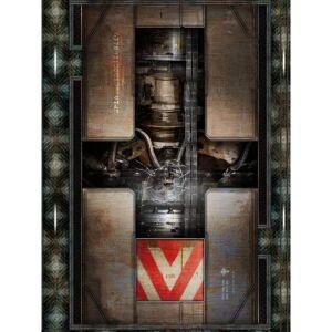 Spielmatte Engine Room 30x22 Zoll