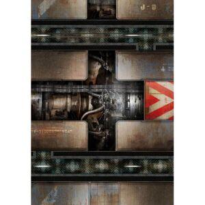 Spielmatte Engine Room 44x30 Zoll