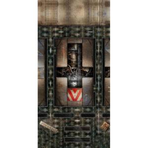 Spielmatte Engine Room 44x90 Zoll