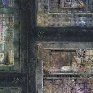 Spielmatte Future City 36x36 Zoll