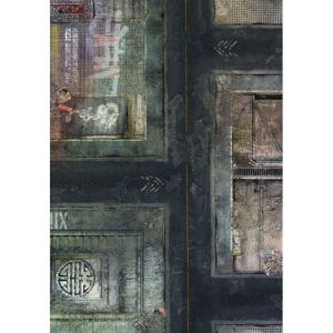 Spielmatte Future City 44x30 Zoll